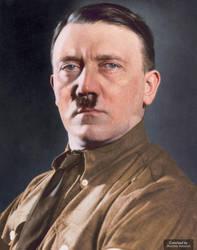 Colorization: Adolf Hitler by marinamaral
