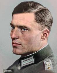 Colorization:Col Claus Schenk Graf Von Stauffenbeg by marinamaral