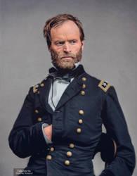 General William T. Sherman by marinamaral
