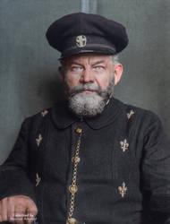 Identified as Peter Meyer. Denmark, 1903 by marinamaral