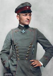 Manfred von Richthofen: The Red Baron by marinamaral