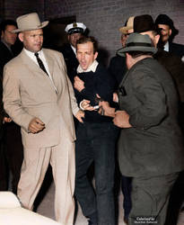 Colorized: Lee Harvey Oswald Assassination by marinamaral