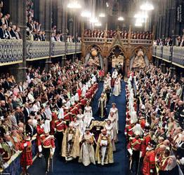 Coronation of Queen Elizabeth II. 2 June, 1953. by marinamaral