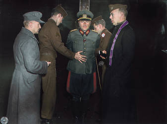 Major General Anton is prepared for execution,1945 by marinamaral