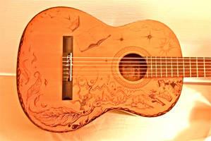 Parisian Guitar by J-Micah-Nelson
