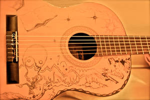 Parisian Guitar - angle 2 by J-Micah-Nelson