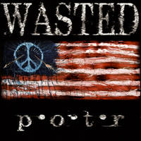 WASTED album back cover by J-Micah-Nelson