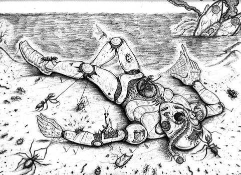 GULLIVER 3300 (INSECTS vs ROBOTS) by J-Micah-Nelson