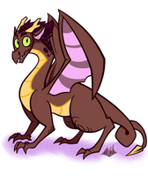 Random-ass Dragon by Jacka-trope