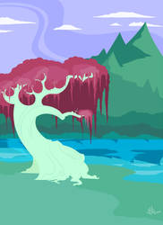 {Post Primordial} Background Practice by Jacka-trope