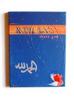 Blue Alhamdulillah by nadiajart