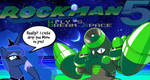 Napalm Man Mega Man 5 Wilys Dream Space by LunarIntercepterAce