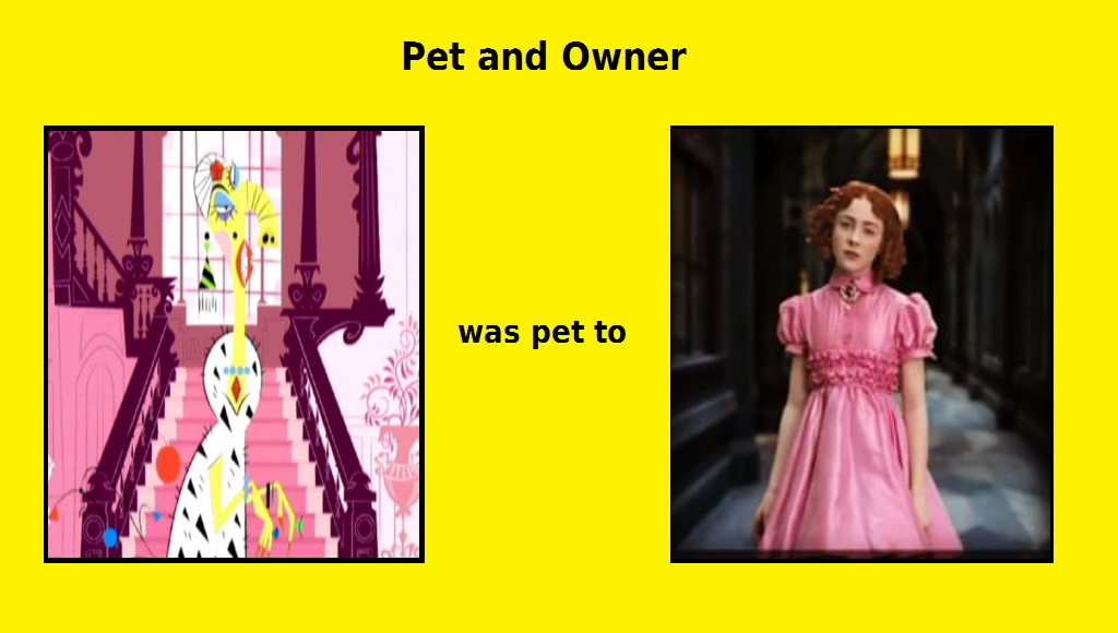 what if Carmelita Spats adopts Duchess as a pet by Carriejokerbates