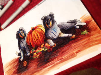 Fall Is Here by fideauxx