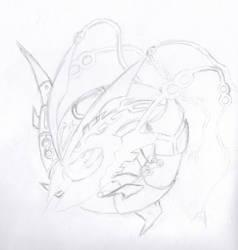 Mega Rayquaza by KageLily