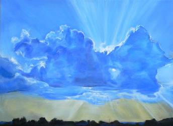 Heavenly Light by Mythozanzibar