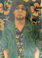 Self-Portrait painting by Mythozanzibar