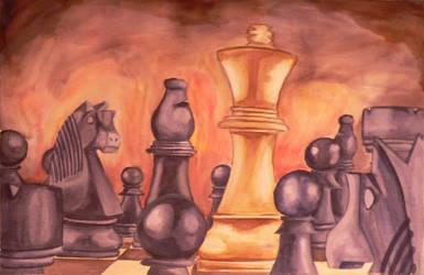 Checkmate by Mythozanzibar