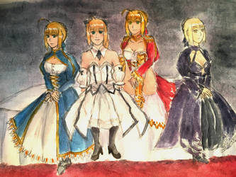 Fate- Harem of Heroines by AstoriaMercury