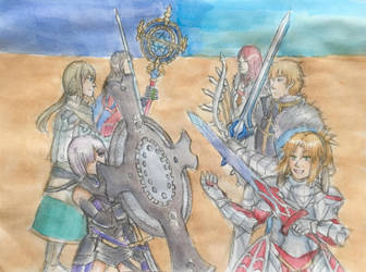 Fate/ Grand Order- Gatekeepers of Camelot by AstoriaMercury