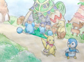 PMD Explorers- Treasure Town by AstoriaMercury