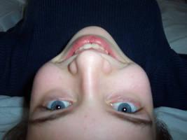 upside down by Bedeccadybug