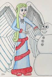 Wanna build a snowman by Zikore