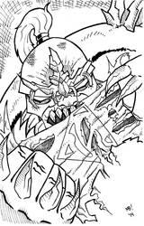 Day 29: Doomsday Inks by Meejub