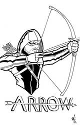 Day 31: Arrow Inks by Meejub