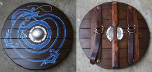 Germanic Warrior 02 - Shield by Crafty-Jack