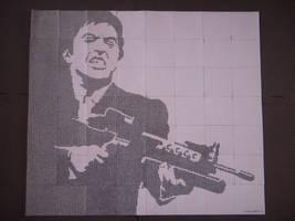 Al Pacino (DotWork) by Chrzanek97