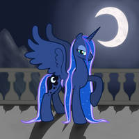 Luna wet mane by Chrzanek97