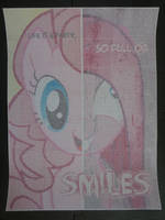 Pinkie Pie two-faced (DotWork) by Chrzanek97