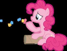 Pinkie Pie sad (Vector) by Chrzanek97