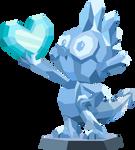 Spike statue (Vector) by Chrzanek97
