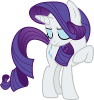 Rarity posing (Vector) by Chrzanek97
