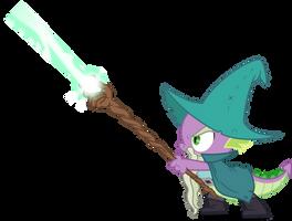 Spike wizard (Vector) by Chrzanek97