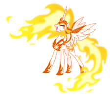 Daybreaker laughing evilly (Vector) by Chrzanek97