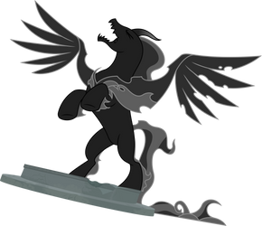 Pony of Shadows unleashed (Vector) by Chrzanek97