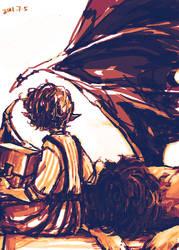 Smaug Bilbo 3 by wuyemantou