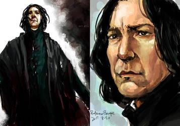 Professor Snape by wuyemantou