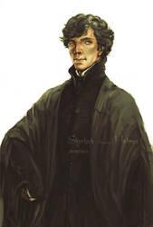 Professor Holmes by wuyemantou