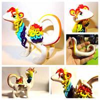 Rainbow Dragon by LittleCLUUs