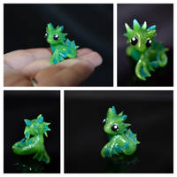 Baby Water Dragon by LittleCLUUs