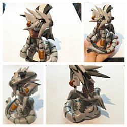 Zecora turned Dragon by LittleCLUUs