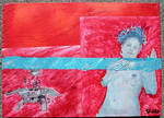 WATER GODDESS with MARS ROVER by rosswright