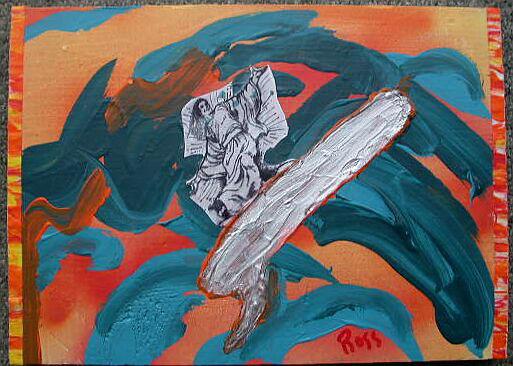 Surfing Jesus Christ by rosswright
