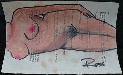 Joy: Nude circa 1978, age 19 by rosswright