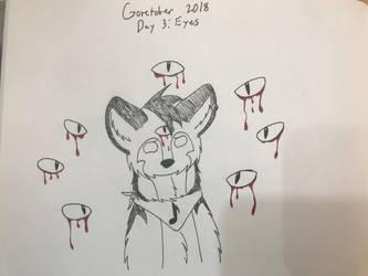 Goretober Day 3: Eyes by TheMusicalSinner