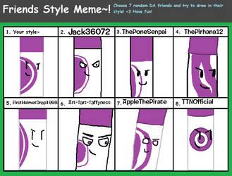Style Meme by alexlion0511